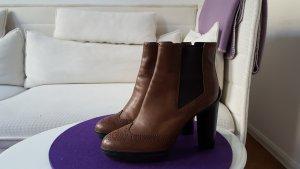 Tod´s Boots Stiefelletten Gr. 40 braun wie neu