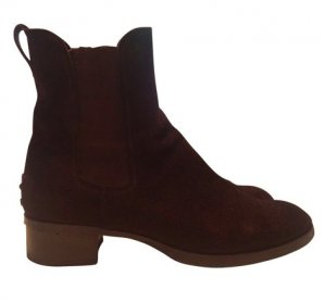 Tod's Cheesy Boots Wildleder Gr. 37, 5 top Zustand