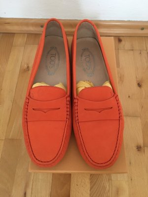Tod's Mocassins orange
