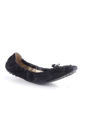 Tod's faltbare Ballerinas schwarz Casual-Look