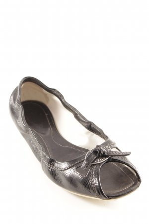 Tod's faltbare Ballerinas schwarz Elegant