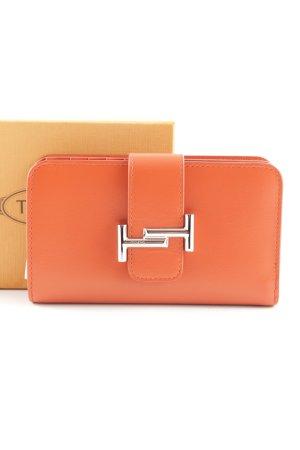 """Tod's Geldbörse """"Leather Wallet Orange"""" orange"""