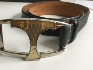 Tod's Leather Belt black-sand brown leather