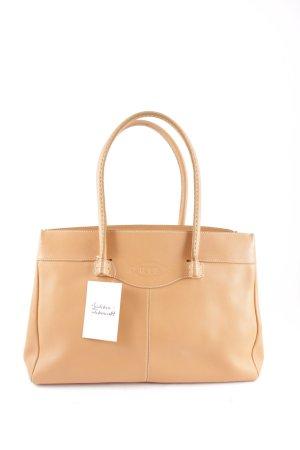 Tod's Handtasche camel Casual-Look