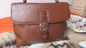Tod's College Bag cognac-coloured-brown