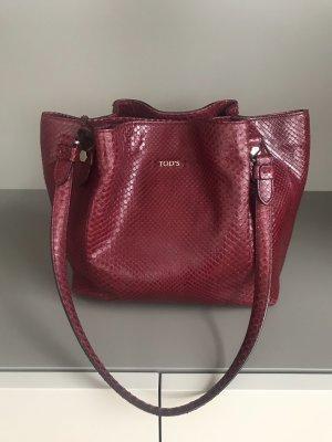 Tod's Handtasche Croco-Leder limitierte Edition