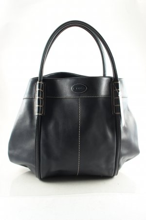 Tod's Handtasche dunkelblau Street-Fashion-Look