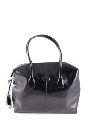 Tod's Handtasche schwarz Casual-Look