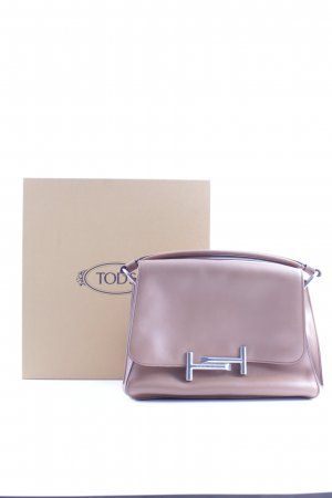 "Tod's Henkeltasche ""Amu Messenger Piccola Leather Brandy"" cognac"