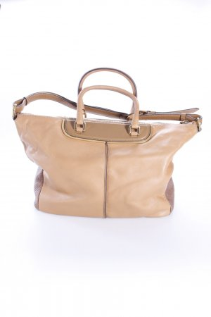 Tod's Henkeltasche Classic Metal Bauletto Medio Brown