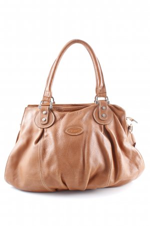 Tod's Carry Bag cognac-coloured casual look
