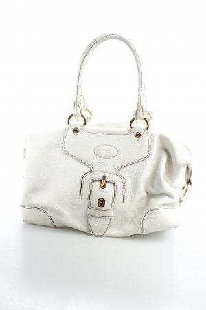 Tod's Carry Bag cream-gold-colored elegant
