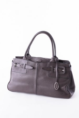 Tod's Carry Bag dark brown leather