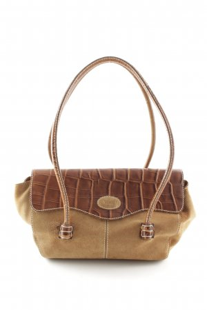 Tod's Carry Bag light brown-brown reptile print