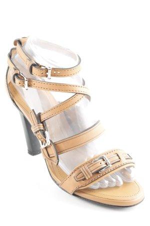 Tod's High Heel Sandaletten sandbraun klassischer Stil