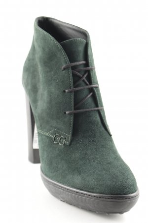 Tod's High-Front Pumps dark green casual look