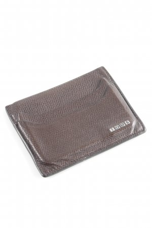 Tod's Card Case dark brown classic style