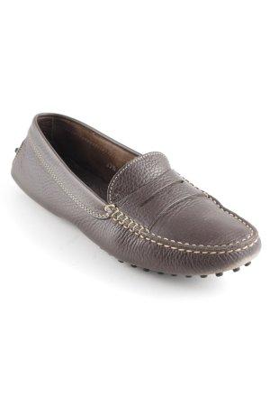 Tod's Sandalias cómodas marrón oscuro look casual