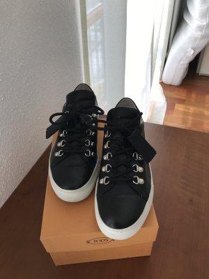 Tod's Leder Sneaker schwarz