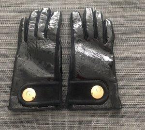 Tod's Leren handschoenen zwart Leer