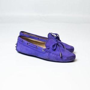 Tod's Mocassins violet cuir