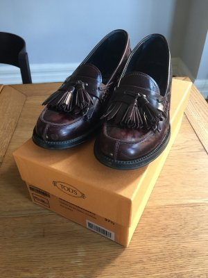 Tod's Mocassins bordeaux