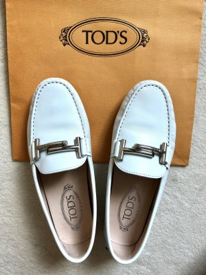 Tod's Loafer Gommino Mokassins aus Leder *NEU*