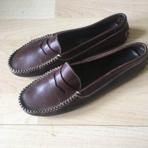 Tod's Mocassins brun cuir