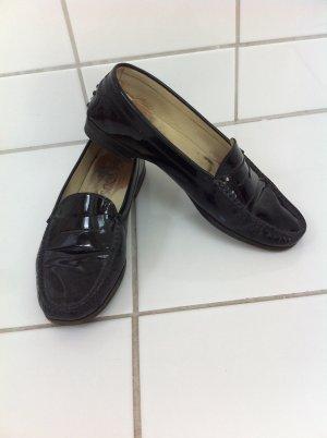 Tod's Loafer schwarz Lack 39 Tods