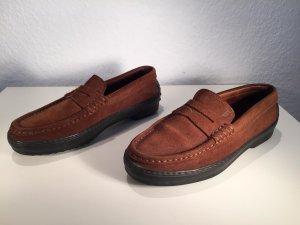 Tod´s Loafers braunes Wildleder - Gr.37