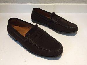 Tod´s Loafers braunes Wildleder Gr.37,5