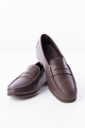 Tod's Moccasins dark brown leather