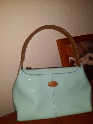 Tod's Carry Bag sage green leather
