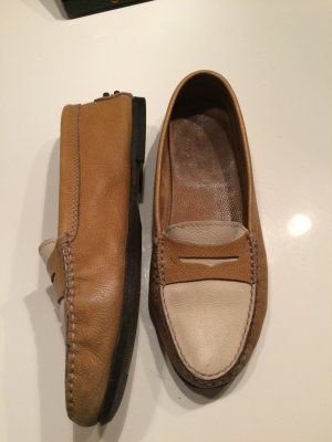 Tod's Moccasins cream-light brown