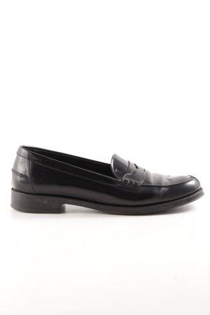 Tod's Mocassins noir style d'affaires