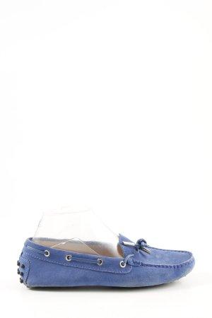 Tod's Mocassino blu stile da moda di strada