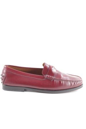 Tod's Mocasines rojo elegante