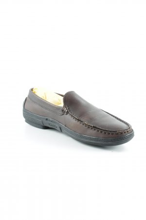 Tod's Mocassins brun-brun foncé style simple