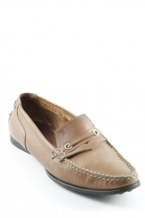 Tod's Mokassins cognac Casual-Look