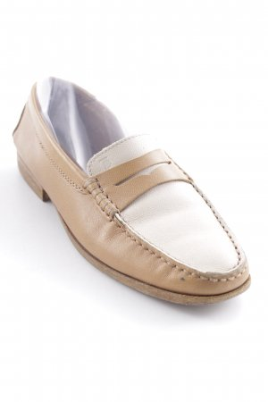 Tod's Moccasins cream-beige college style