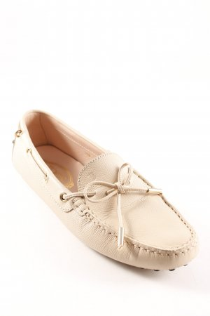 Tod's Mokassins creme Casual-Look