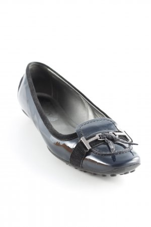 Tod's Mocasines azul oscuro look casual