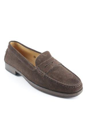 Tod's Mocassins brun foncé style décontracté