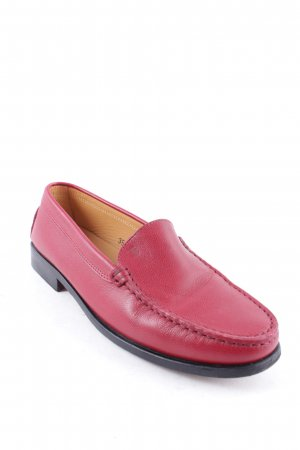 Tod's Moccasins dark red classic style
