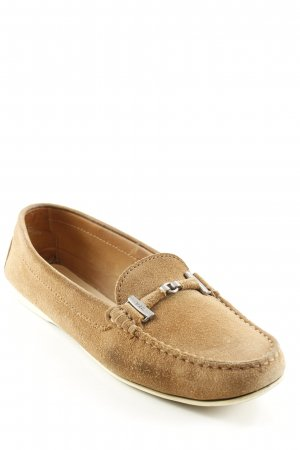 Tod's Moccasins light brown casual look