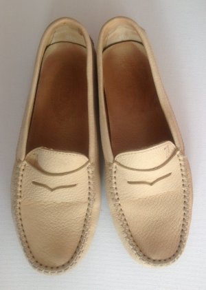 Tod's Moccasins beige suede