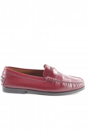 Tod's Mokassins rot Business-Look
