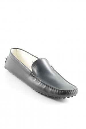Tod's Mokassins schwarz Casual-Look