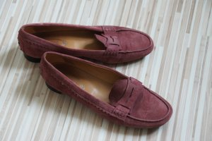 Tod's Moccasins dusky pink suede