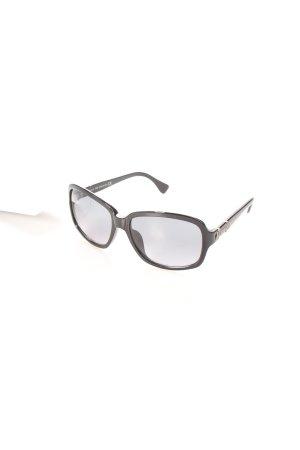 Tod's ovale Sonnenbrille schwarz Eleganz-Look